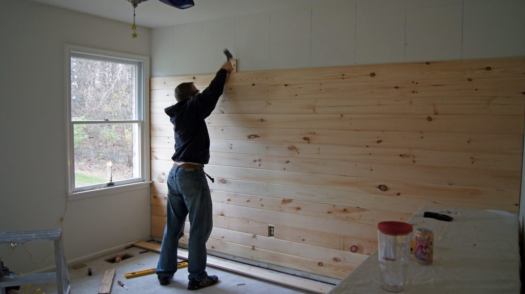 Shiplap Vs Nickel Gap Making Your Budget Work For You Hams At Home - Cost of shiplap vs sheetrock