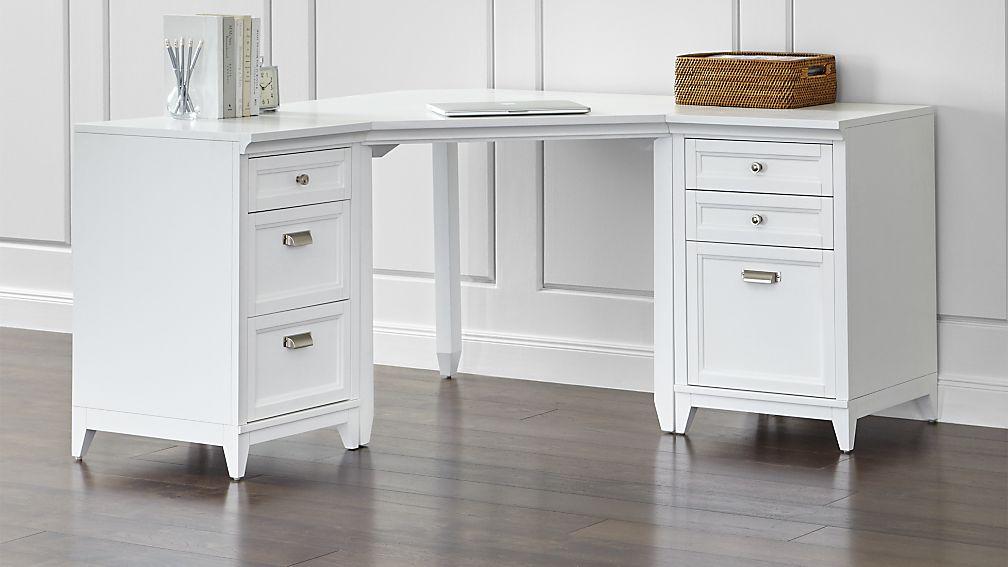 dueling desks part i hams at home. Black Bedroom Furniture Sets. Home Design Ideas